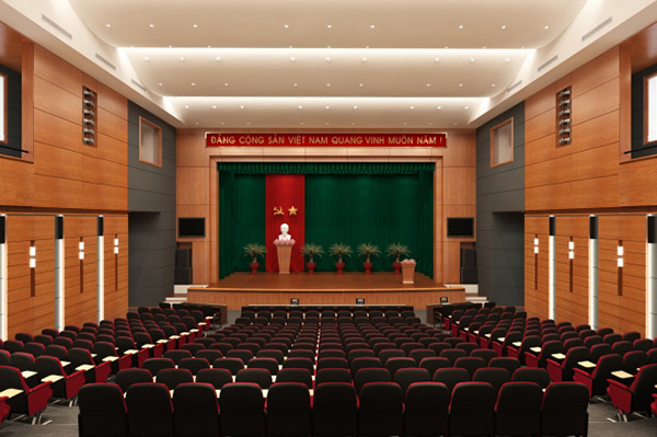 Thiết kế nội thất cho từng loại hội trường